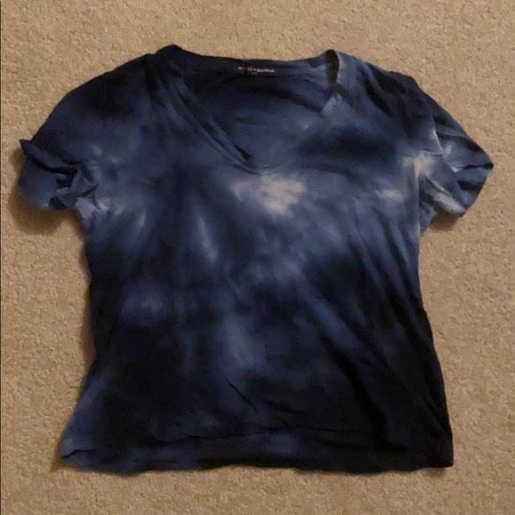 Brandy tie dye v neck shirt